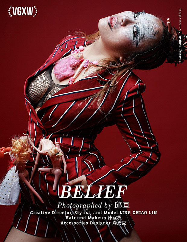[VGXW] Belief by Ling Chiao Lin and 邱亘 for VGXW Magazine