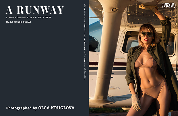 A Runway - A Style editorial by Olga Kruglova for VGXW Magazine