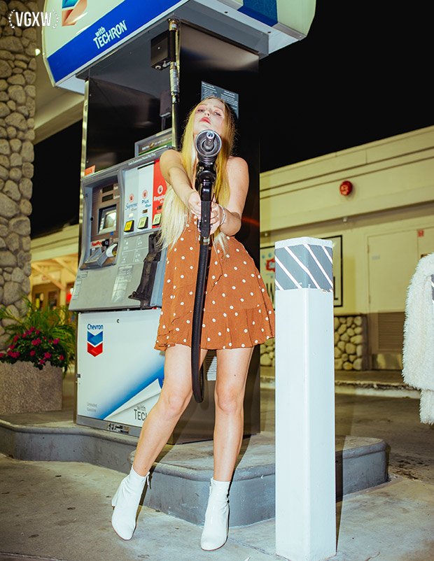 Style Editorial: The Gas Station by Helen Merwin for VGXW Magazine | virtuogenix.online