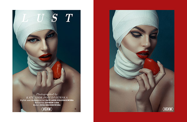 Beauty Editorial by Kate Poludniewska for VGXW Magazine December 2017 Book 2 | virtuogenix.online