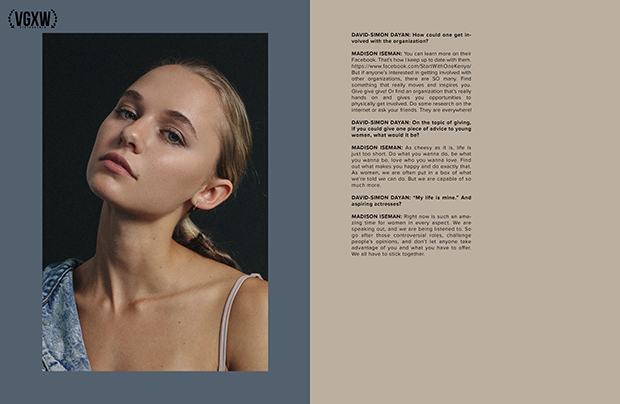 Interview with Madison Iseman | VGXW Magazine @ virtuogenix.online