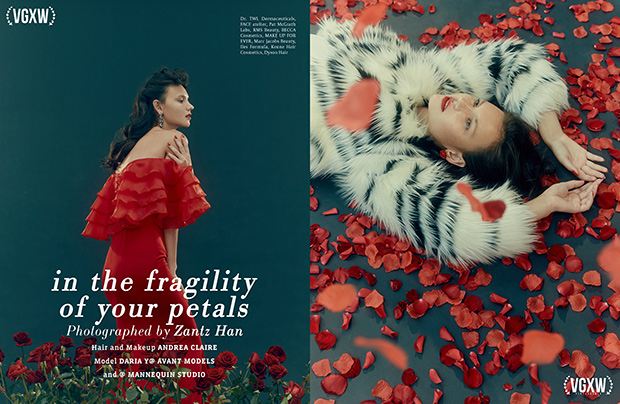 Style editorial by Zantz Han and Andrea Claire for VGXW Magazine - December 2017 Book 2 | virtuogenix.online