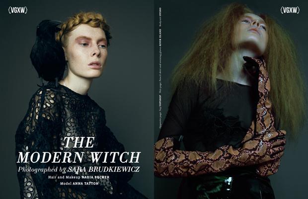 """""""The Modern Witch"""" - a fashion story by Sara Brudkiewicz for VGXW Magazine"""