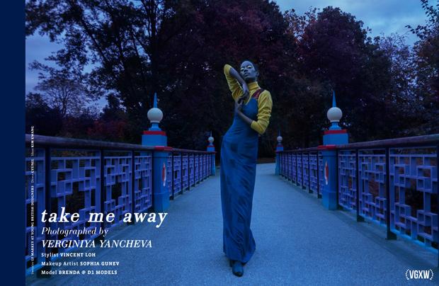 """Take Me Away"" - a fashion story by Verginiya Yancheva"