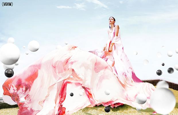 VGXW Magazine: Les facettes de la rose by Victoria Krundysheva