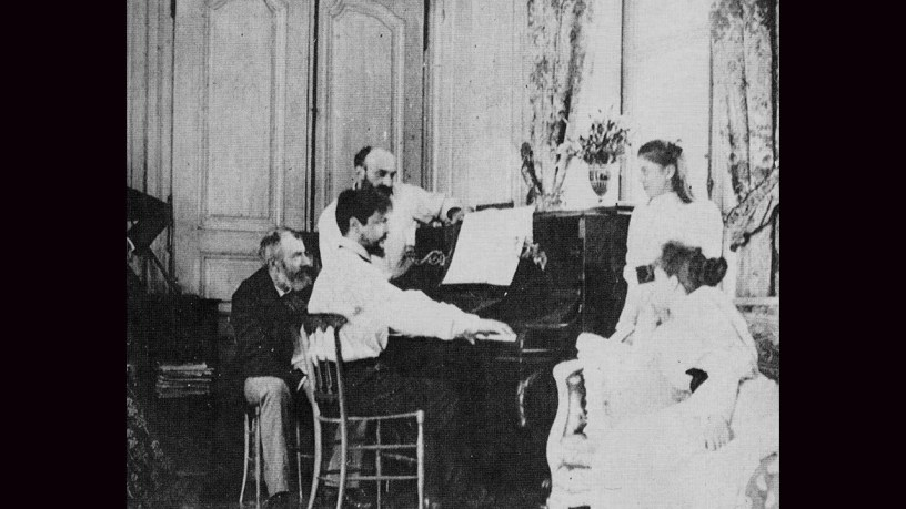 [1913] Claude Debussy plays – No.3 Clair de Lune (Suite Bergamasque) – Debussy