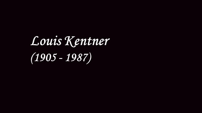 [1940] Louis Kentner plays – For Children (Sz.42) – Bartók
