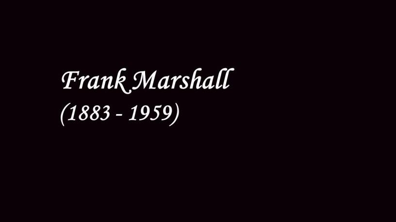 [1907] Frank Marshall plays – 4 Norwegian Dances (Op.35) – Grieg