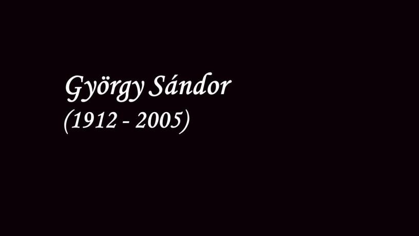 [1947 – 1948] György Sándor plays – Hungarian Rhapsody No.15 (S.244) – Liszt