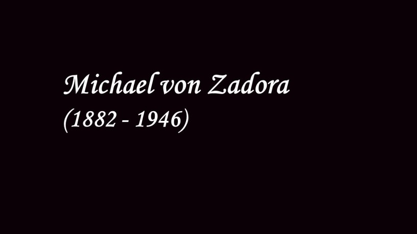 Michael von Zadora plays – No.2 (Consolations, S.172) – Liszt