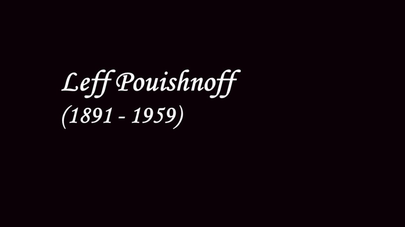 [1928] Leff Pouishnoff plays – Piano Sonata No.12 (D.894) – Schubert – 1