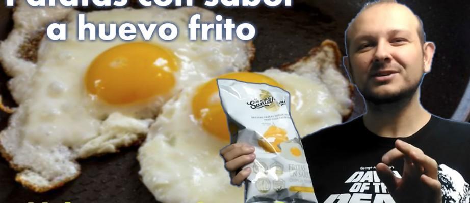 Patatas fritas con sabor a huevo frito: la verdad detrás del mito