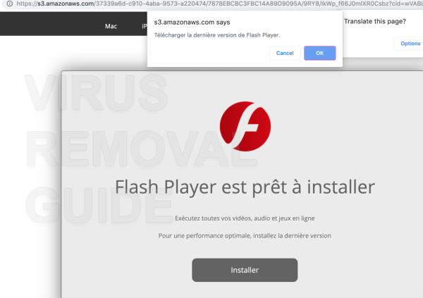 Flash Player est prêt à installer
