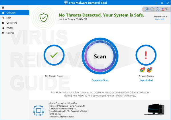 Free Malware Removal Tool