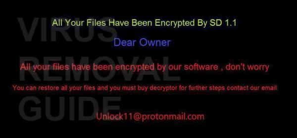 SD 1.1 adware