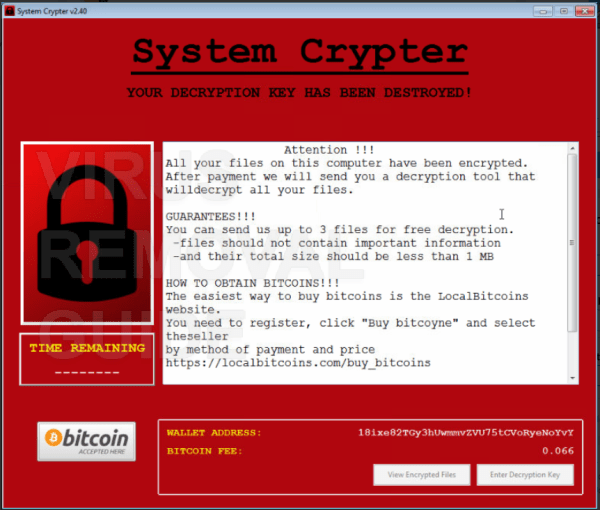 SystemCrypter adware