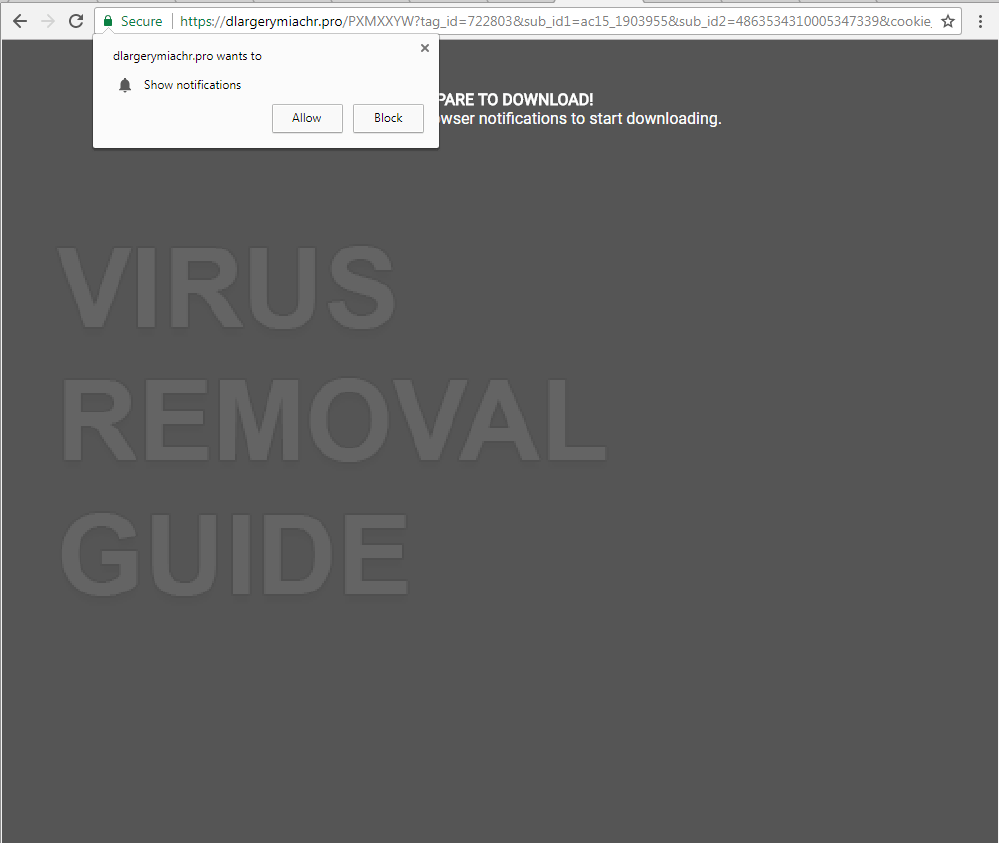 Dlargerymiachr.pro adware