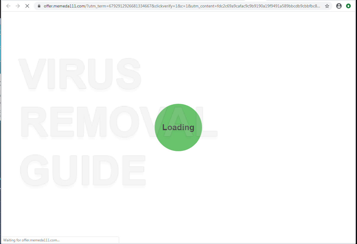 Memeda111.com adware