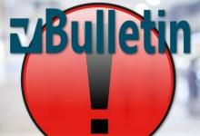 Botnets exploit vBulletin vulnerability