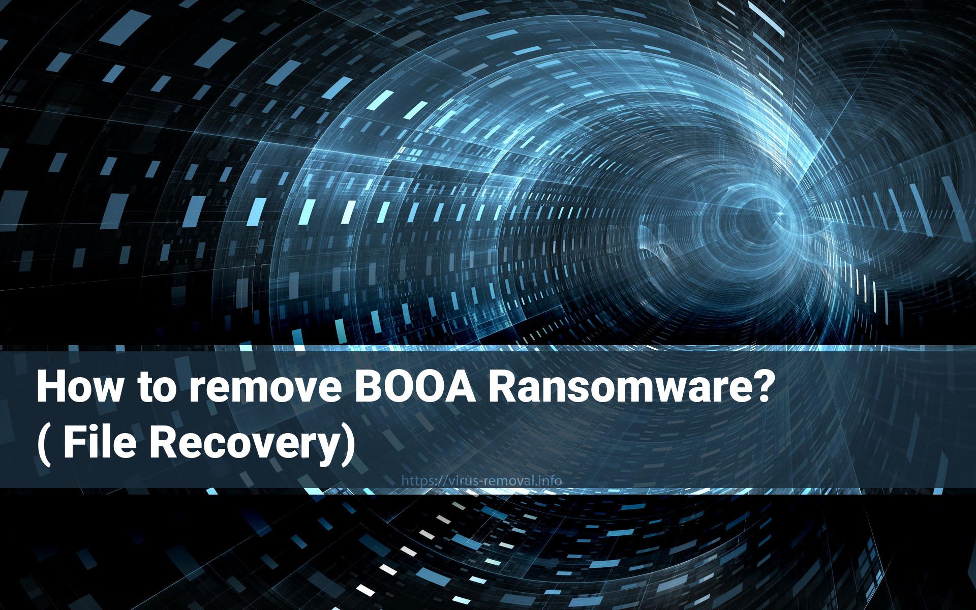 Booa Ransomware