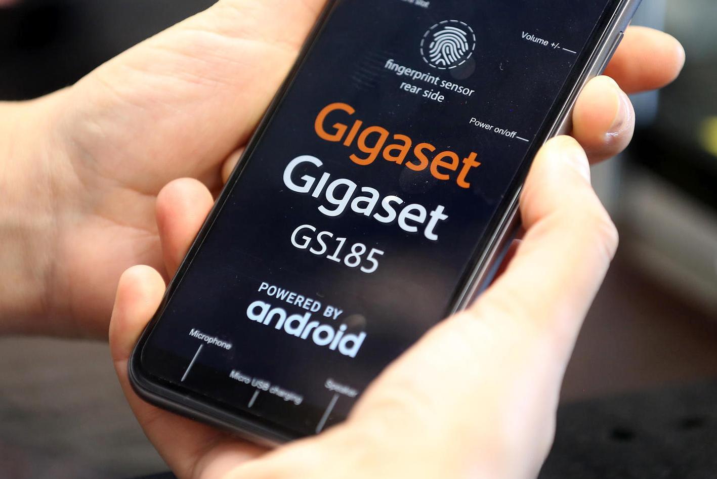 Gigaset smartphones infected with malware