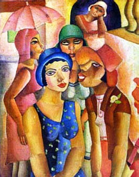 Resultado de imagem para di cavalcanti cinco moças de guaratinguetá