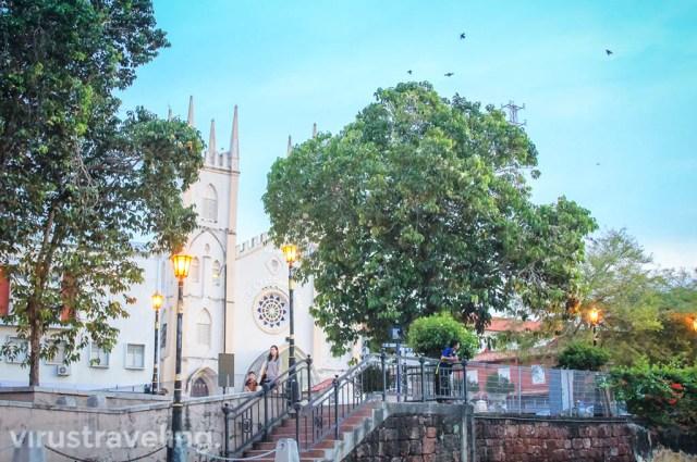 Tempat Wisata di Melaka Malaysia: Gereja St. Francis Xavier