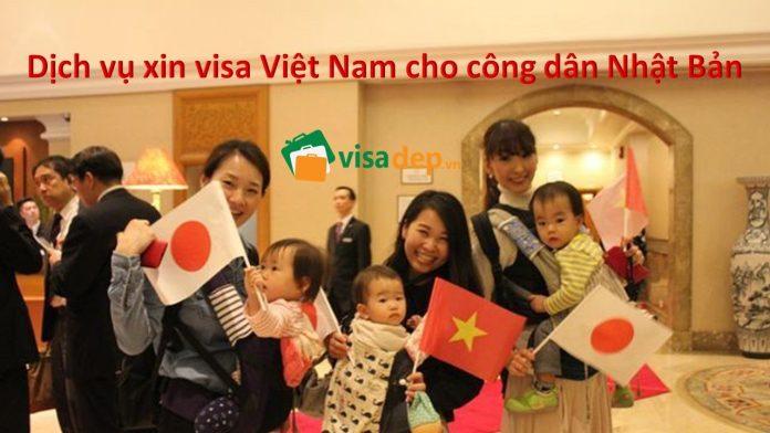 dịch vụ xin visa việt nam cho công dân nhật bản