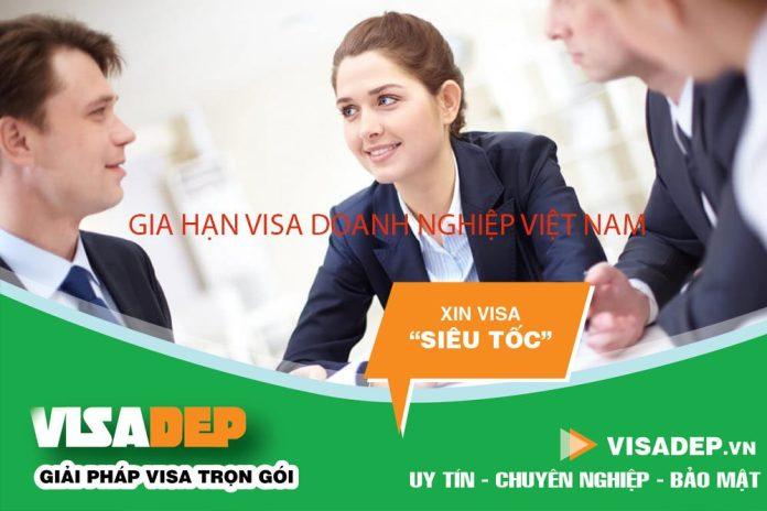Dịch vụ gia hạn visa doanh nghiệp Việt Nam