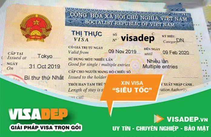 gia hạn visa khẩn cho người nước ngoài