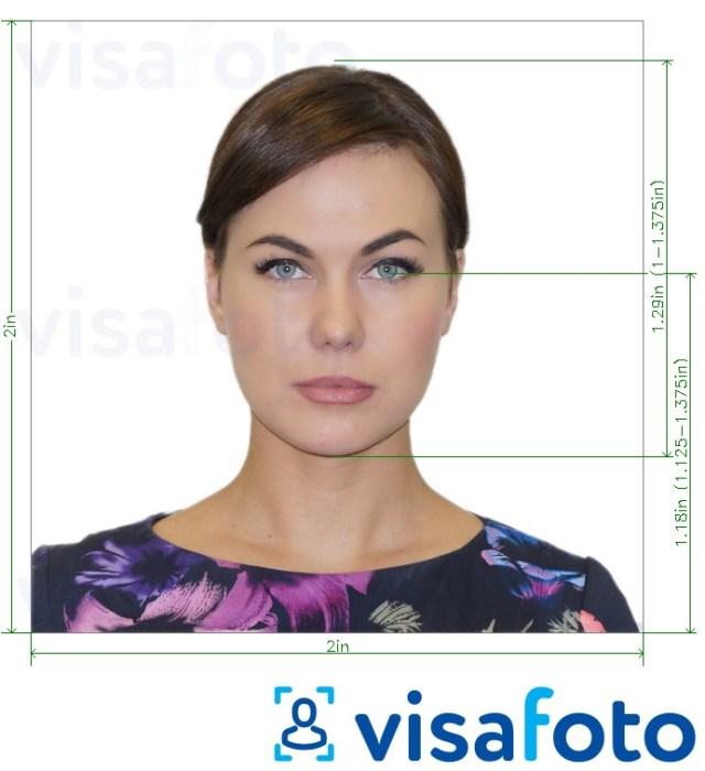 DV-2022 Green Card Lottery photo correct size