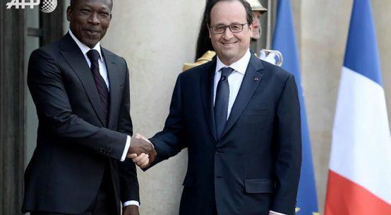 «J'ai partagé avec François Hollande le contenu du plan d'urgence pour régler certains problèmes cruciaux du pays», dixit le président Patrice Talon