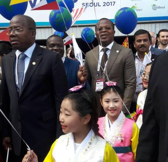 Séoul : Le président Adrien Houngbédji, invité d'honneur du 3ème Sommet annuel pour la Paix
