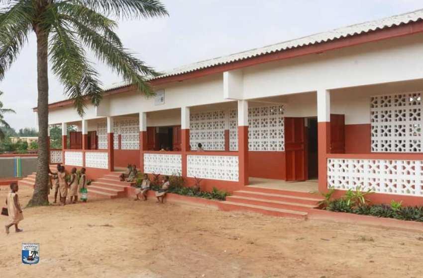 Fruits de la lutte contre la mafia foncière à Porto-Novo : Des écoles maternelle et primaire construites par la Fondation Claudine Talon sur un domaine de 6000 m2