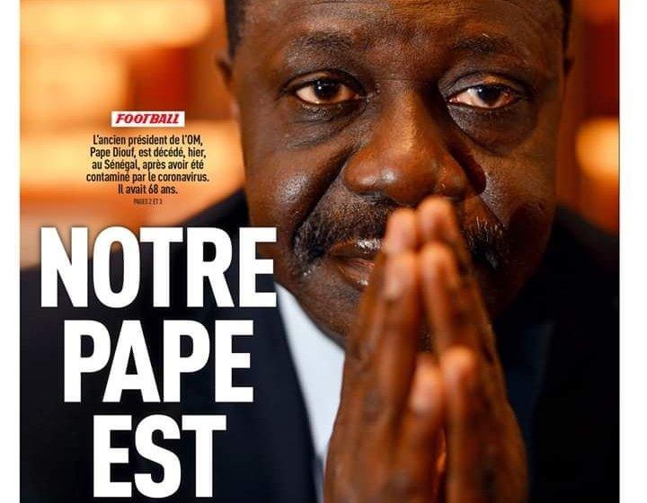 Football : Pape Diouf, le plus marseillais des Sénégalais, emporté par le coronavirus