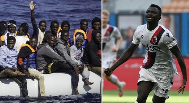 Musa Juwara, réfugié en 2016, joueur de Bologne jusqu'en 2024