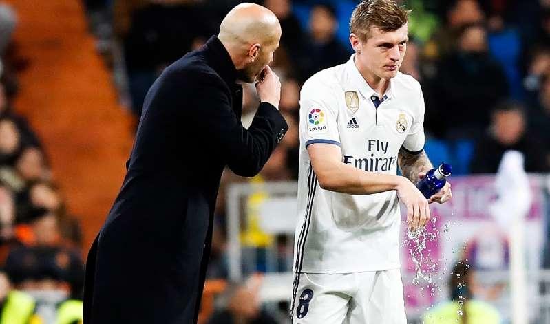 Real Madrid: l'hommage très fort de Zidane à Kroos