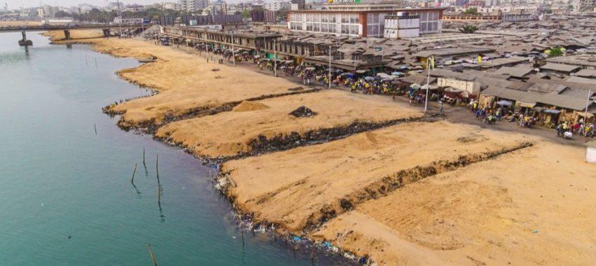 Cotonou: Des travaux confortatifs d'assainissement pour la berge ouest de la lagune