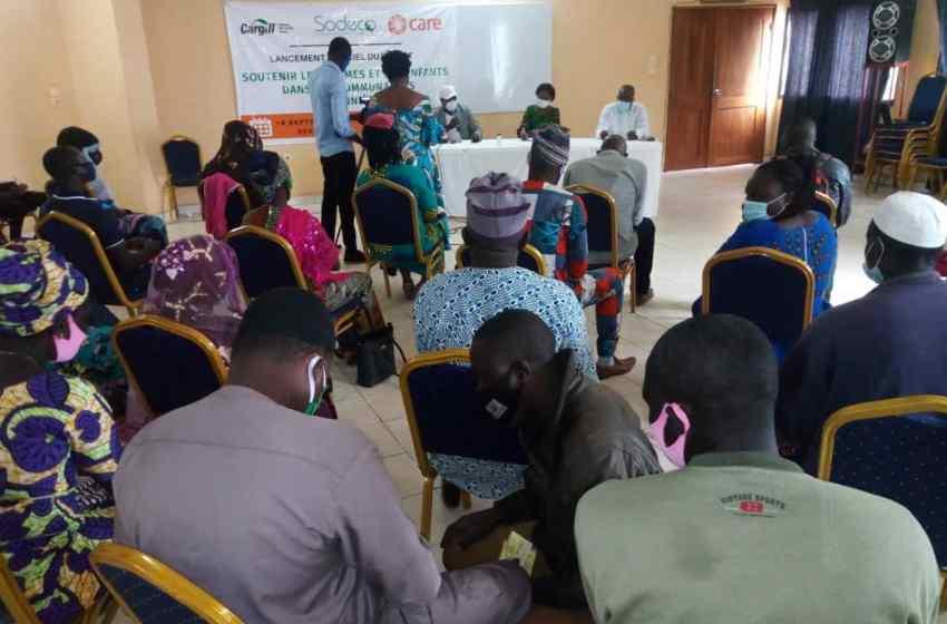 Djougou : Le projet « Soutenir les femmes et les enfants dans les communautés cotonnières (SoFEC) » lancé
