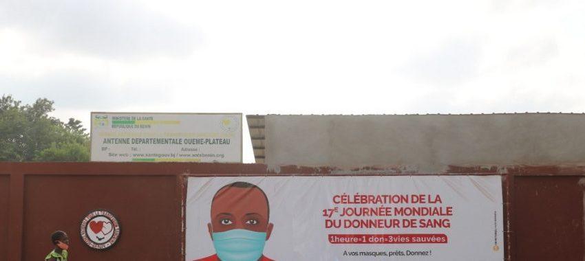 Collecte de sang en temps de Covid-19: Situation sous contrôle dans l'Ouémé/Plateau