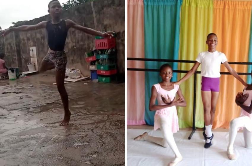 La belle histoire d'un jeune danseur nigérian repéré grâce à une vidéo