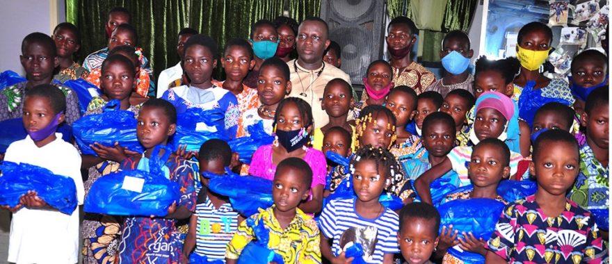 Cotonou/Appui aux enfants en situation difficile: Des kits scolaires aux orphelins