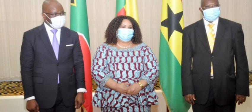 En fin de mission au Bénin: Les ambassadeurs d'Afrique du Sud et du Ghana honorés