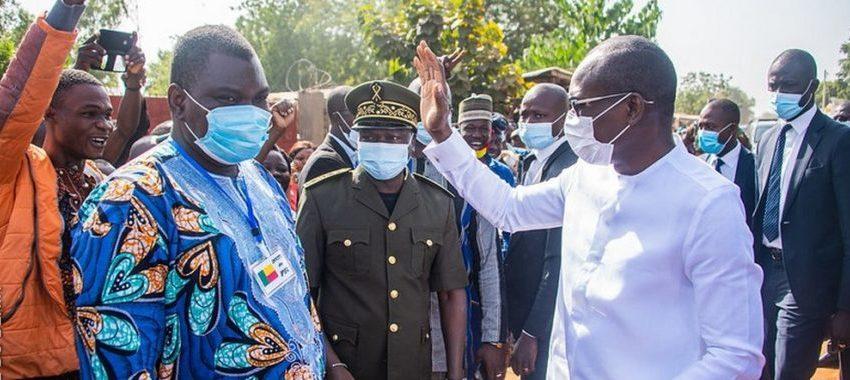 Tournée du chef de l'État dans les communes: « Je suis venu faire avec vous le point… »