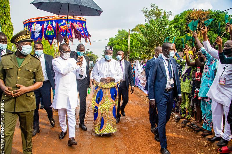 Tournée présidentielle : Abomey sublime et porte Talon en triomphe