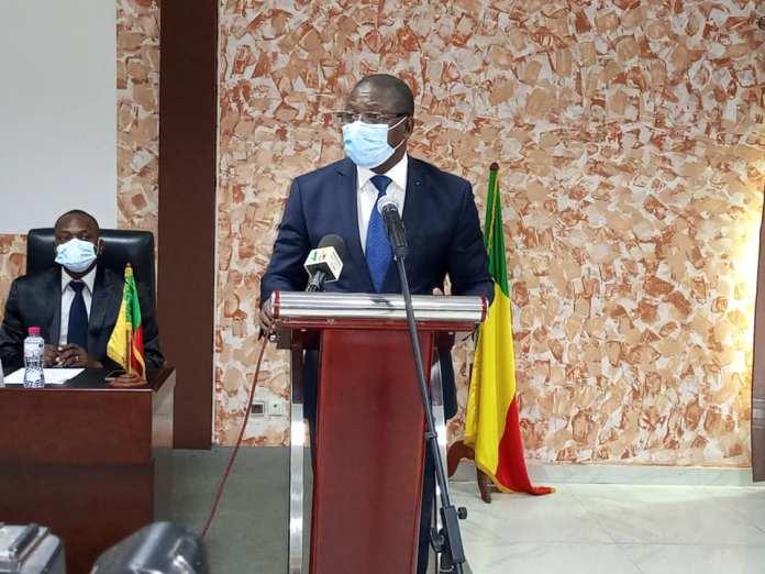 L'honorable Augustin AHOUANVOEBLA, coordonnateur de APNAC-BENIN
