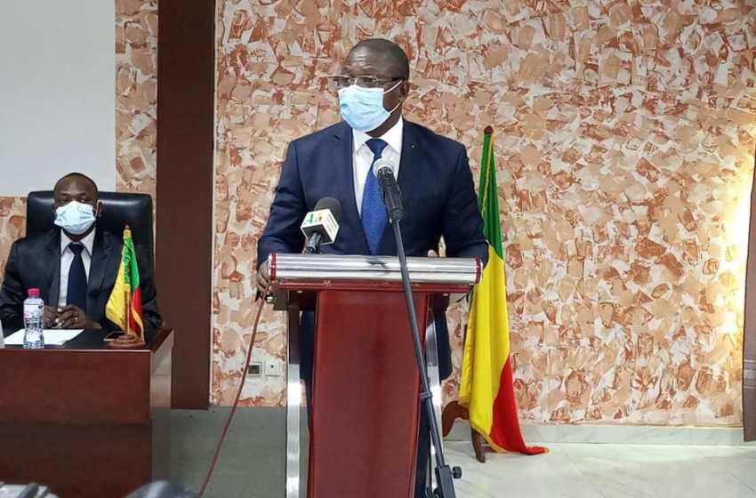Le Coordonnateur Apnac-Benin Augustin AHOUANVOEBLA à l'ouverture de l'atelier d'imprégnation, de renforcement des capacités:
