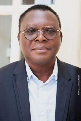 Edmond Zinsou ancien Maire de la Commune d'Adjarra, Ancien député à l'Assemblée nationale, Précedemment Chargé de Mission du Président Louis Vlavonou