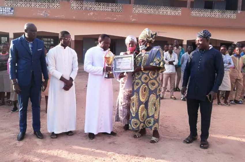 Donga: Trois collèges primés à Djougou pour l'excellence et zéro cas de grossesse
