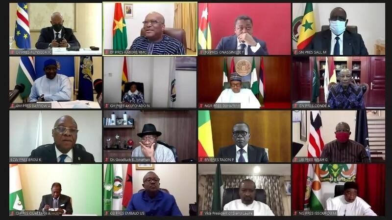 Monnaie unique, Covid-19, Sécurité et Démocratie…: Voici les grandes conclusions de la 58ème session ordinaire de Conférence des Chefs d'Etat et de Gouvernement de la CEDEAO